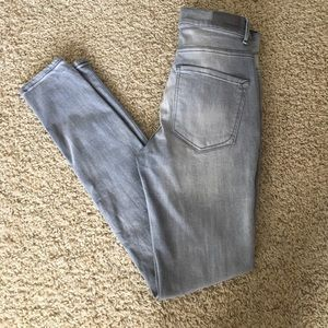 Express ultimate Stretch Legging Size 4 Grey Jeans